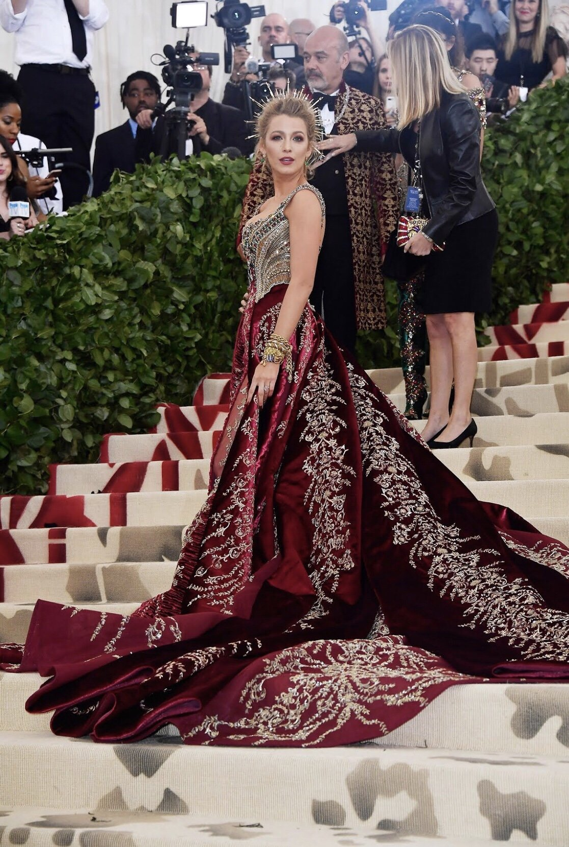 Blake Lively:  Solo and Stunning at the Met Gala